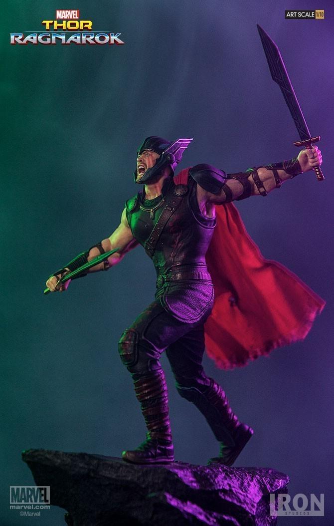 Estátua Thor: Thor Ragnarok Battle Diorama Series (BDS) Art Scale Escala 1/10 - Iron Studios