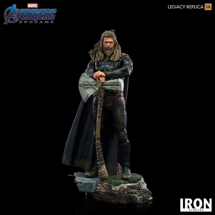 PRÉ VENDA Estátua Thor: Vingadores: Ultimato (Avengers: Endgame) Legacy Replica (Limited Edition) Escala 1/4 - Iron Studios