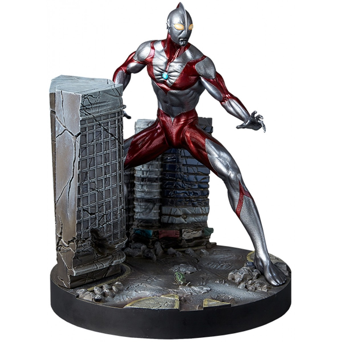 PRÉ VENDA: Estátua Ultraman Pre-Painted Model Kit - Gecco