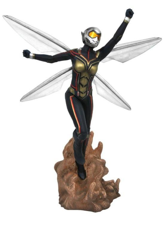 Estátua Vespa (Wasp): Homem-Formiga e a Vespa (Ant-Man and the Wasp) Marvel Comics Gallery - Diamond Select