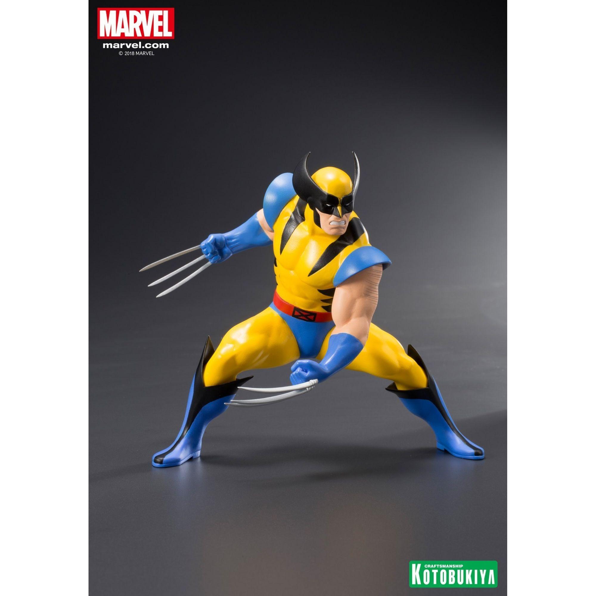 Estátua Wolverine & Jubilee: X-men 92 - Marvel (ArtFX) Escala1/10) (2-Pack) - Kotobukiya