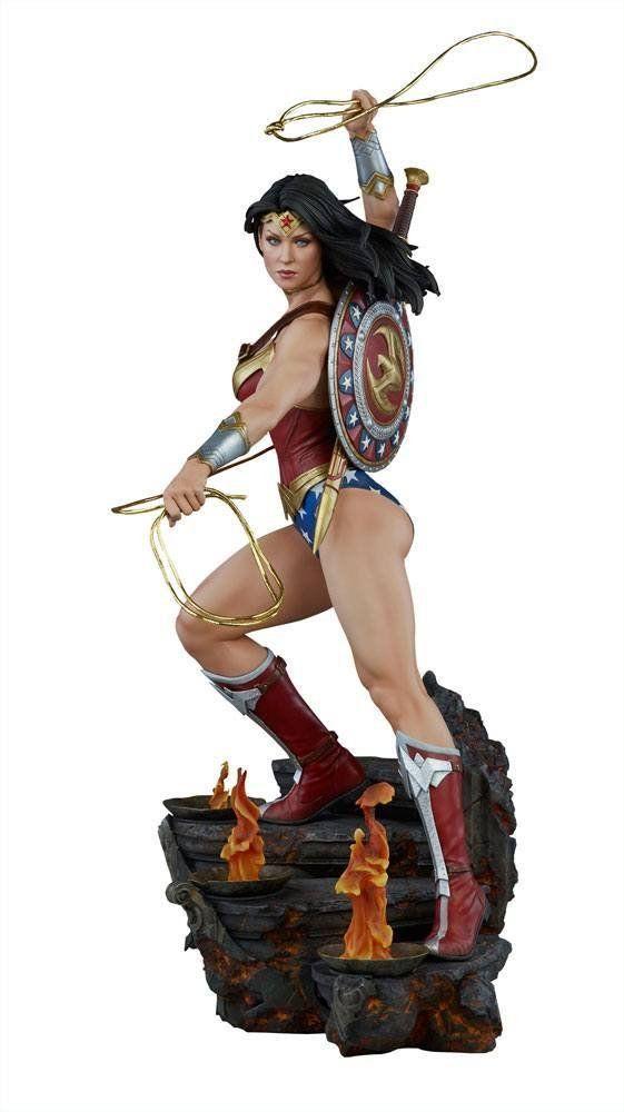 Estátua Wonder Woman (Mulher-Maravilha): DC Comics Premium Format - Sideshow Collectibles