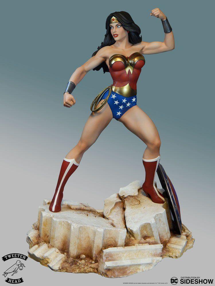 PRÉ VENDA: Estátua Wonder Woman Super Powers ( Mulher-Maravilha ) Maquette - Tweeterhead