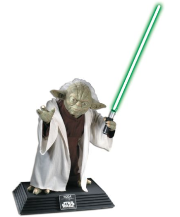 PRÉ VENDA Estátua Yoda: Star Wars (Life Size) Collector's Edition - Rubie's
