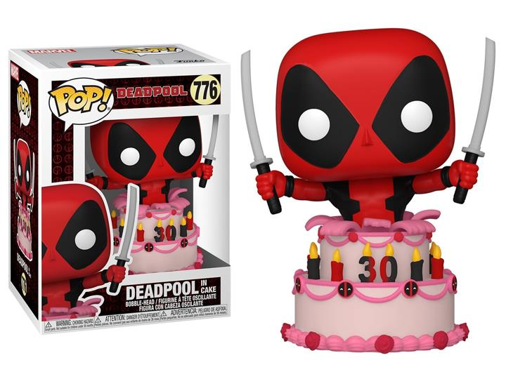PRÉ VENDA: Funko Pop! Deadpool No Bolo Deadpool In Cake: Marvel Edição Especial 30th Anniversary Special Edition  - Funko