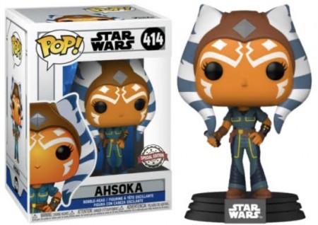 Funko Pop! Ahsoka: Star Wars: The Clone Wars Edição Especial Special Edition #414 - Funko