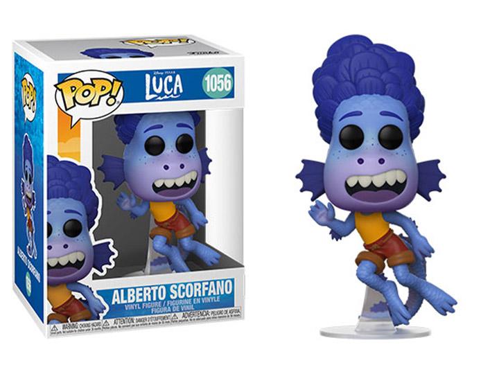 PRÉ VENDA: Funko Pop! Alberto Scorfano: Luca Disney Pixar #1056 - Funko