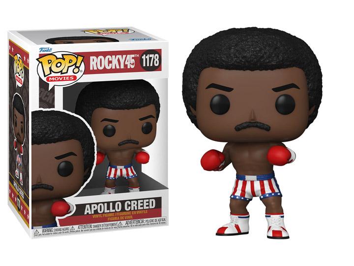 PRÉ VENDA: Funko Pop! Apollo Creed: Rocky45  Aniversario 45 Anos #1178 - Funko