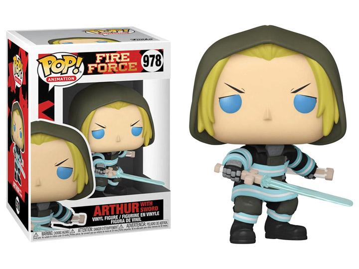 PRÉ VENDA: Funko Pop! Arthur (With Sword) Fire Force #978 - Funko