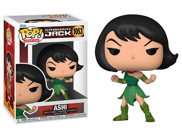 PRÉ VENDA: Funko Pop! Ashi: Samurai Jack Animation Cartoon Network #1053 - Funko