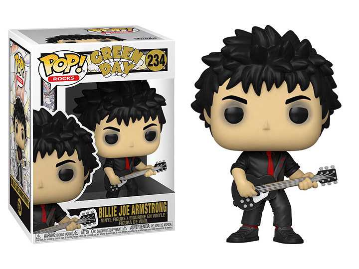 PRÉ VENDA: Funko Pop! Billie Joe Armstrong: Green Day Rocks #234 - Funko