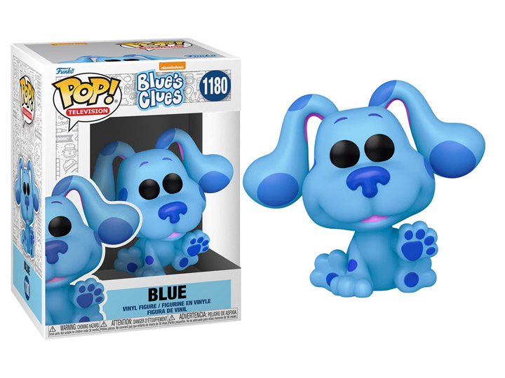 PRÉ VENDA: Funko Pop! Blue: As Pistas de Blue Nickelodeon #1080 - Funko