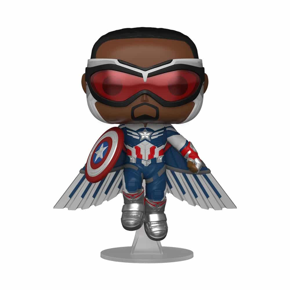 PRÉ VENDA: Funko Pop! Capitão America Com Asas: Falcão e Soldado Invernal The Falcon and the Winter Soldier Exclusivo #817 Marvel - Funko