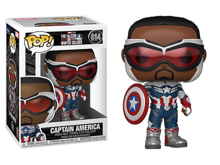 PRÉ VENDA: Funko Pop! Capitão América: Falcão e Soldado Invernal The Falcon and the Winter Soldier #814 Marvel - Funko