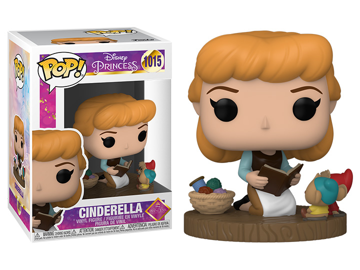 PRÉ VENDA: Funko Pop! Cinderella: Princesas Disney Ultimate Princess #1015 - Funko