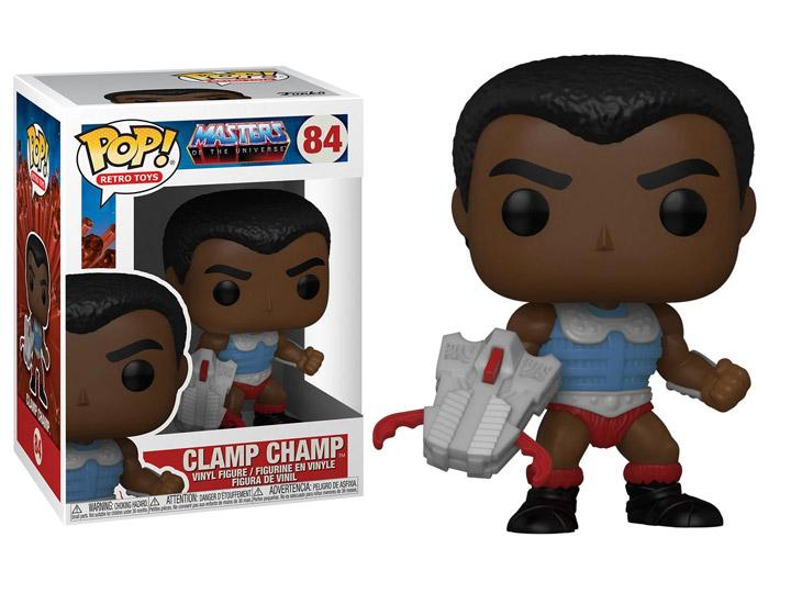 PRÉ VENDA: Funko Pop! Clamp Champ: Masters of the Universe #84 - Funko