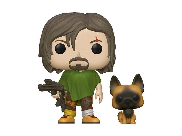 PRÉ VENDA: Funko Pop! Daryl With Dog:The Walking Dead - Funko