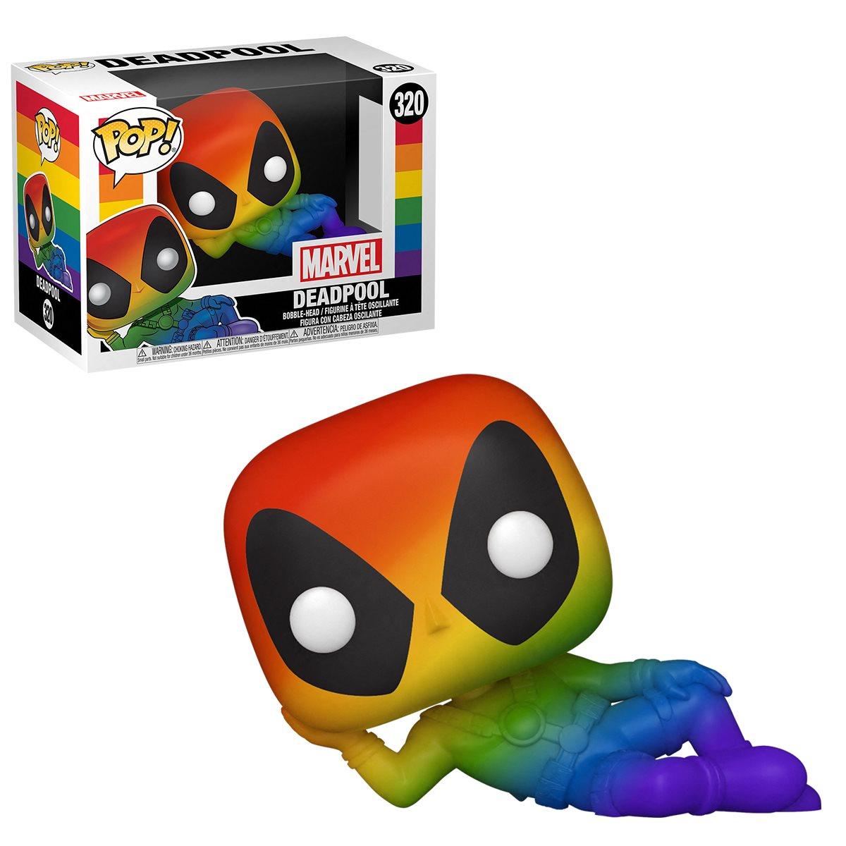 PRÉ VENDA: Funko Pop! Deadpool Pride 2021 Rainbow: Marvel #320 - Funko