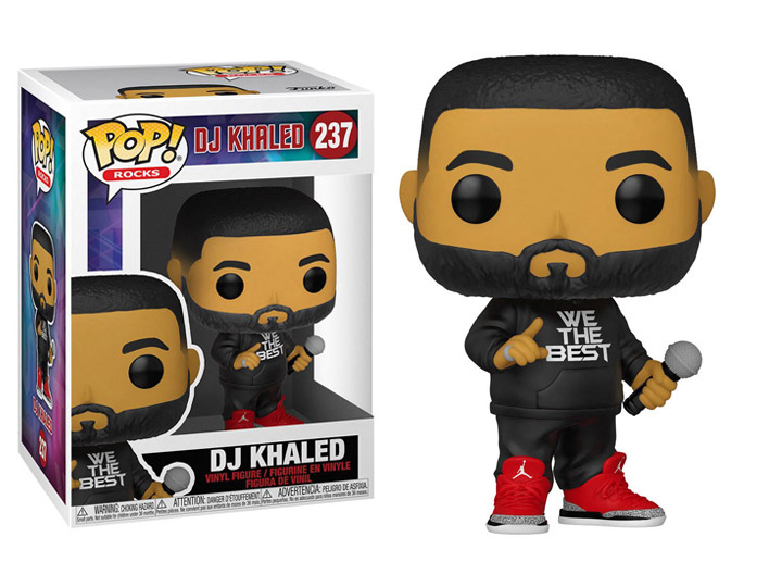 PRÉ VENDA: Funko Pop! DJ Khaled #237 - Funko