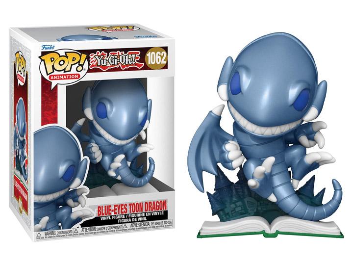 PRÉ VENDA: Funko Pop! Dragão Branco de Olhos Azuis do Mundo da Fantasia Bleu-Eyes Toon: Yu-Gi-oh!  #1062 - Funko