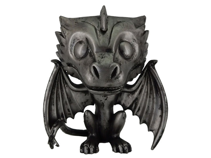 PRÉ VENDA: Funko Pop! Drogon De Ferro Drogon (Iron): Game of Thrones 10 Anos - Funko