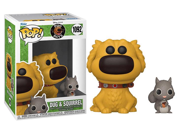 PRÉ VENDA: Funko Pop! Dug and Squirrel: Dug Days Disney #1092 - Funko