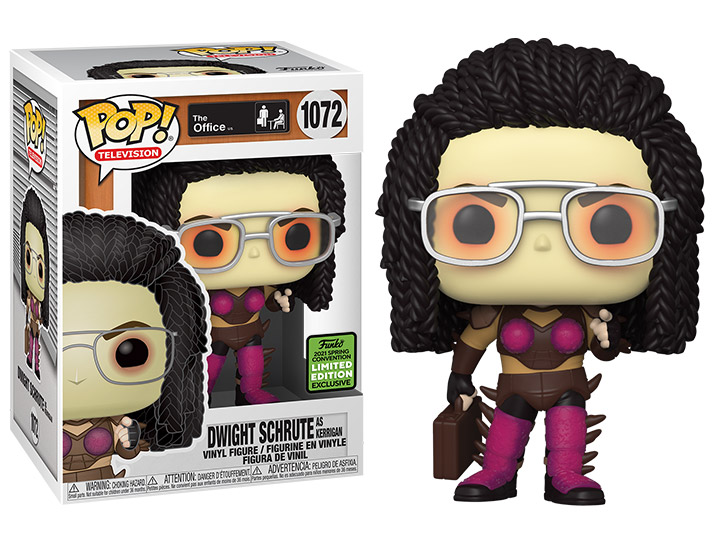 PRÉ VENDA: Funko Pop! Dwight as Kerrigan : The Office Exclusivo #1072 - Funko