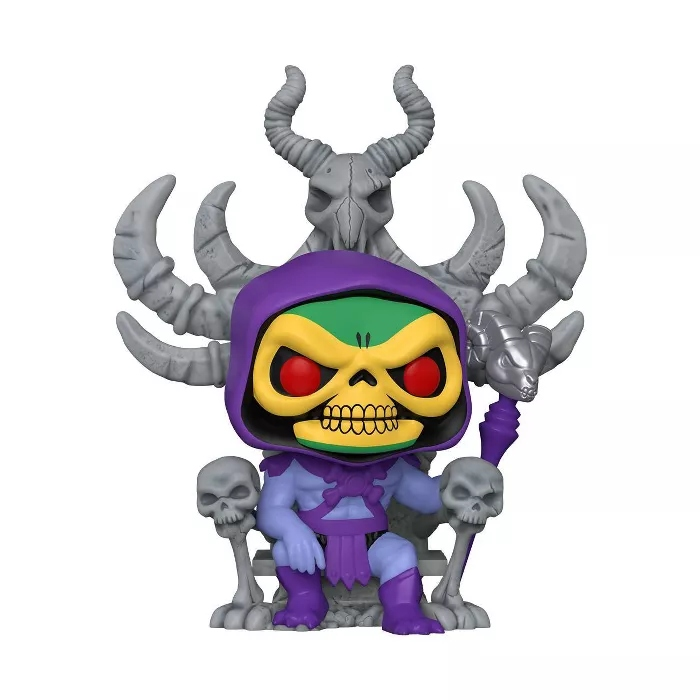 PRÉ VENDA: Funko Pop! Esqueleto No Trono Skeletor on Throne: He-man Mestres do Universo Masters Of The Universe Deluxe #68 - Funko