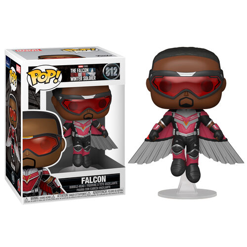 PRÉ VENDA: Funko Pop! Falcão Voando Falcon Flying: Falcão e o Soldado Invernal The Falcon and the Winter Soldier  #812 - Funko