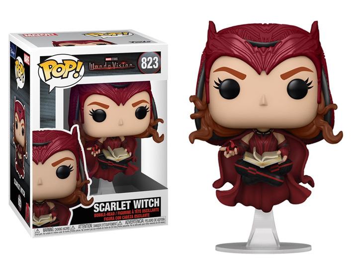 PRÉ VENDA: Funko Pop! Feiticeira Escarlate Scarlet Witch: WandaVision #823 - Funko