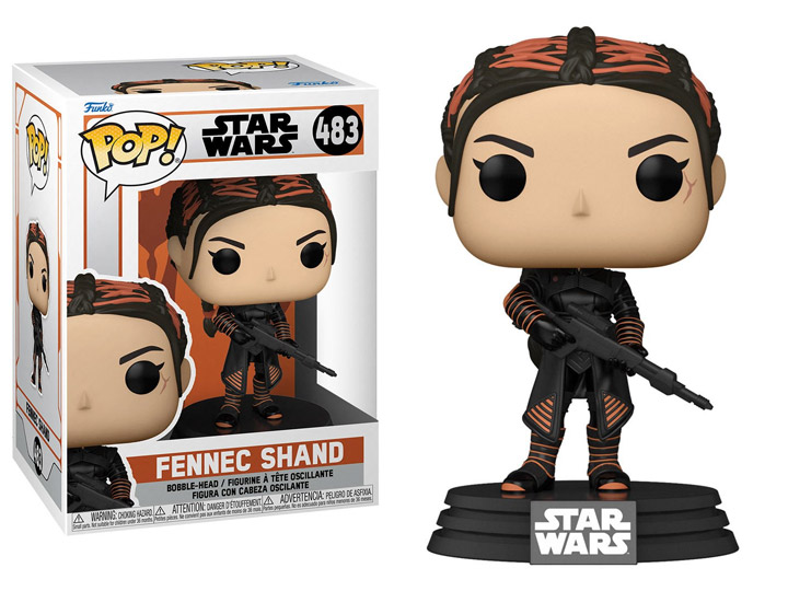 PRÉ VENDA: Funko Pop! Fennec Shand: Star Wars The Mandalorian #483 - Funko