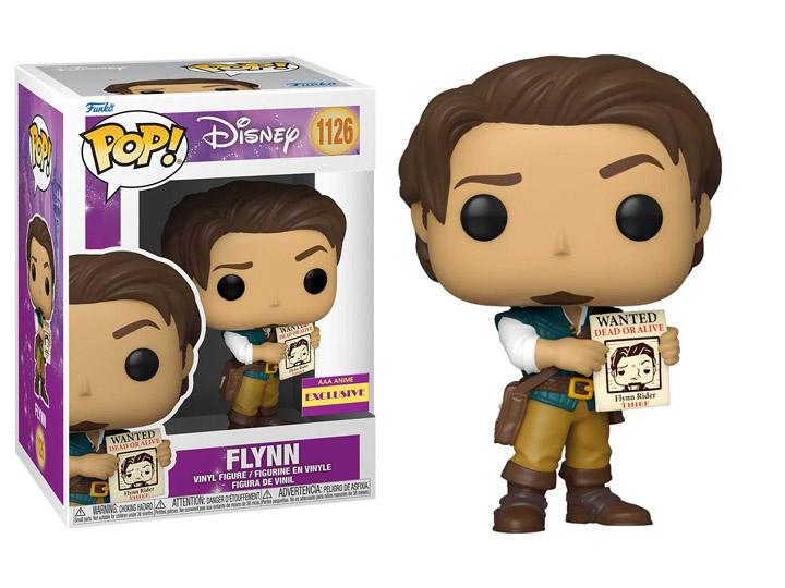 PRÉ VENDA: Funko Pop! Flynn Rider: Enrolados Disney AAA Animação Exclusiva #1126 - Funko