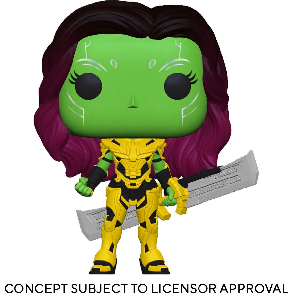 PRÉ VENDA: Funko Pop! Gamora Blade of Thanos: What If...? Marvel - Funko