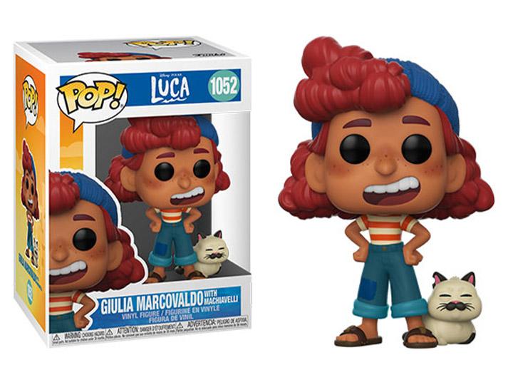 PRÉ VENDA: Funko Pop! Giulia Marcovaldo: Luca Disney Pixar #1052 - Funko
