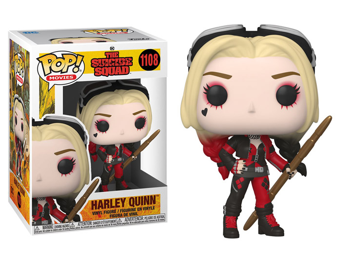 PRÉ VENDA: Funko Pop! Arlequina Harley Quinn (Bodysuit): O Esquadrão Suicida The Suicide Squad DC Comics #1108 - Funko