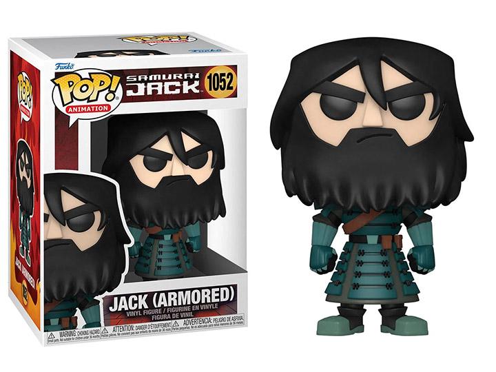 PRÉ VENDA: Funko Pop! Jack (Armored): Samurai Jack Animation Cartoon Network #1052 - Funko