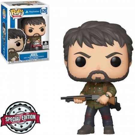 PRÉ VENDA: Funko Pop! Joel: The Last of Us (PlayStation) Exclusivo - Funko
