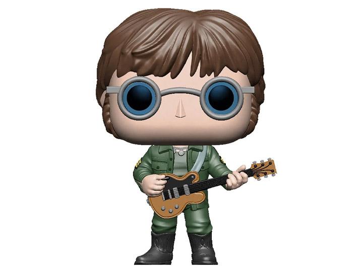 PRÉ VENDA: Funko Pop!  John Lennon The Beatles Revolution (Military Jacket) Rocks - Funko