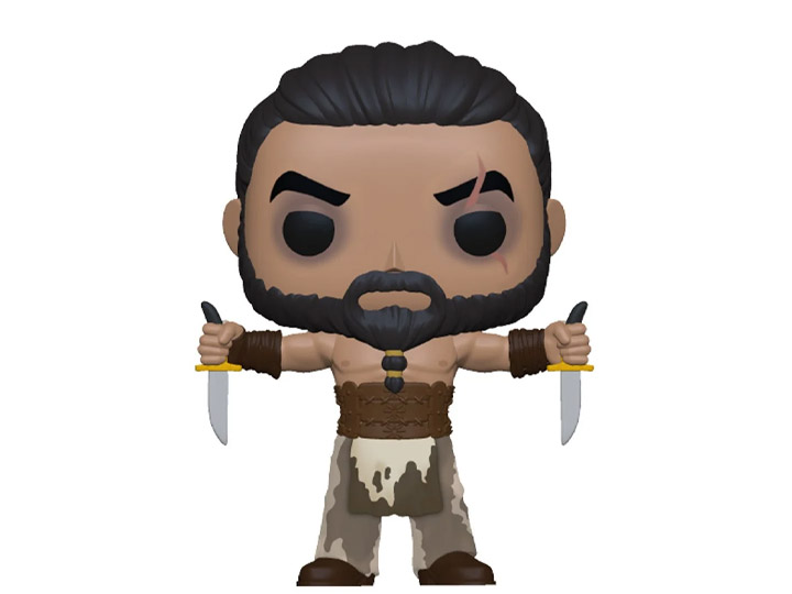 PRÉ VENDA: Funko Pop! Khal Drogo Com Adagas Khal Drogo with Daggers: Game of Thrones 10 Anos - Funko