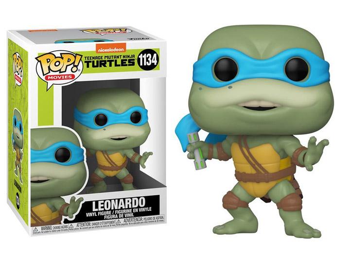 PRÉ VENDA: Funko Pop! Leonardo: As Tartarugas Ninja II: O Segredo de Ooze  #1134 - Funko
