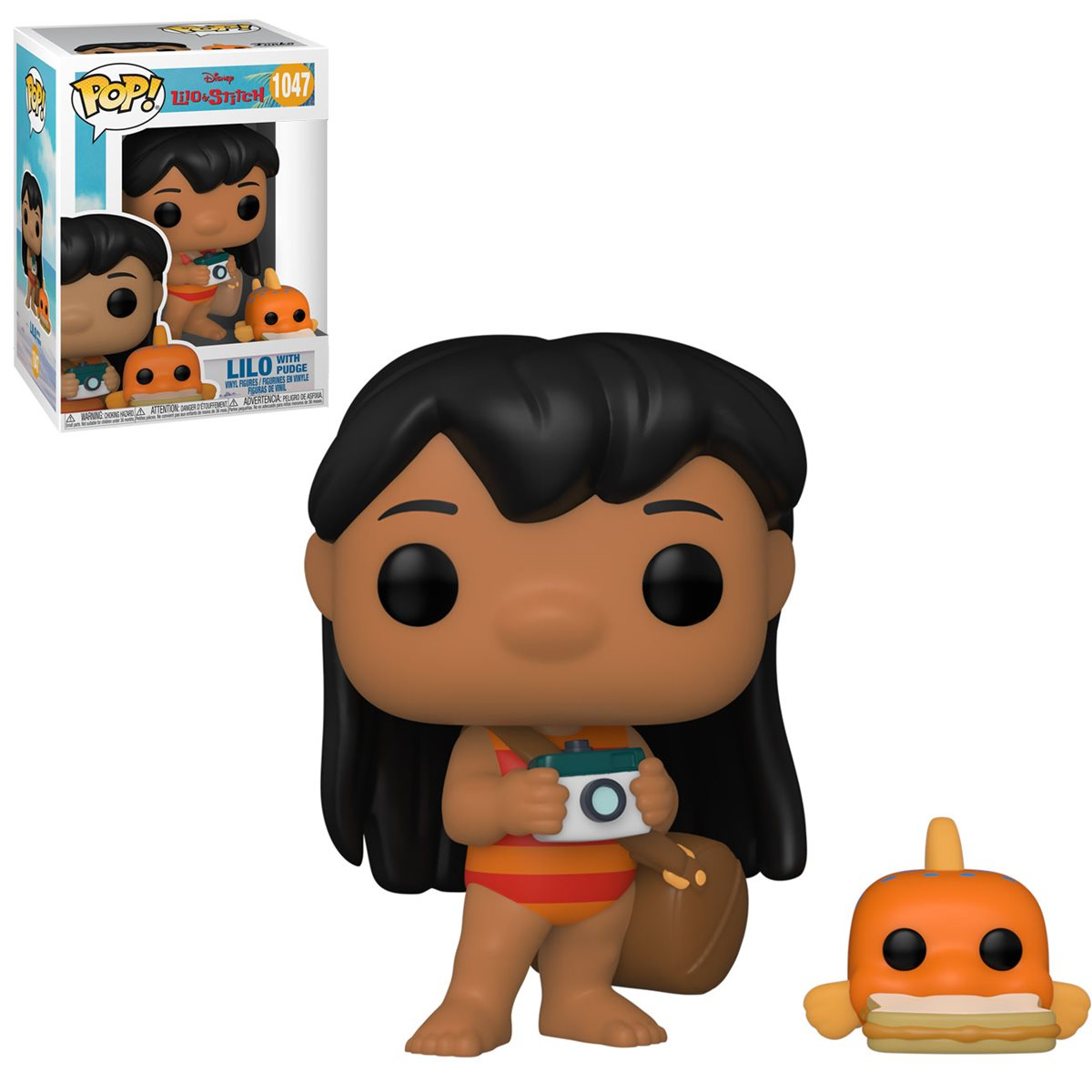 PRÉ VENDA: Funko Pop! Lilo Com Pudge: Lilo & Stitch Disney #1047 - Funko