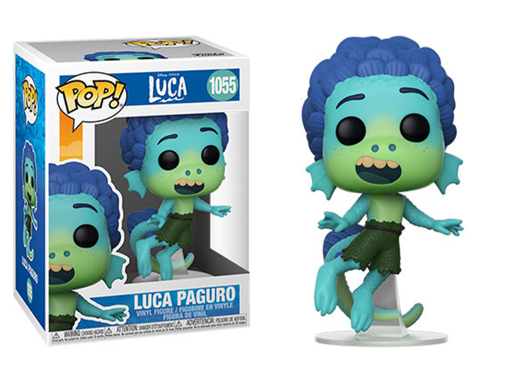 PRÉ VENDA: Funko Pop! Luca Paguro: Luca Disney Pixar #1055 - Funko