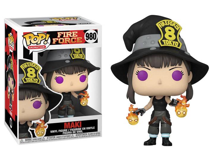 PRÉ VENDA: Funko Pop! Maki: Fire Force #980 - Funko