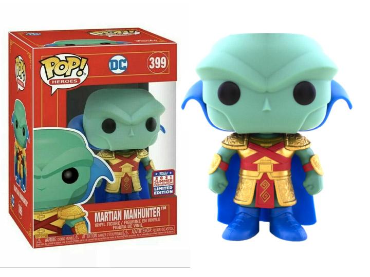 PRÉ VENDA: Funko Pop! Martian Manhunter Caçador Marciano: Imperial Palace DC Comics Limited Edition #399 - Funko