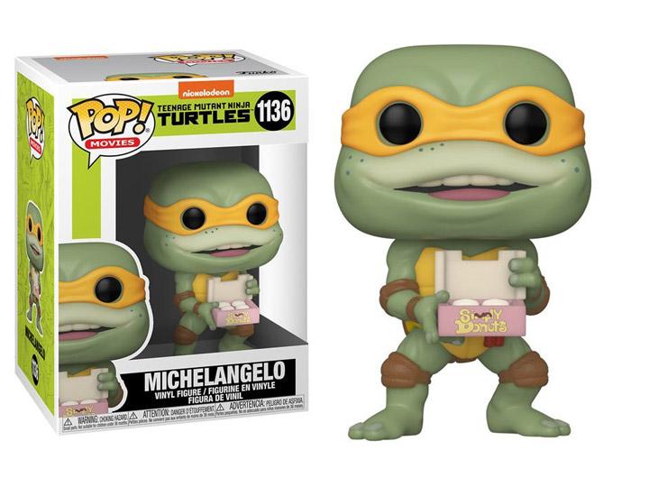 PRÉ VENDA: Funko Pop! Michelangelo: As Tartarugas Ninja II: O Segredo de Ooze #1136 - Funko