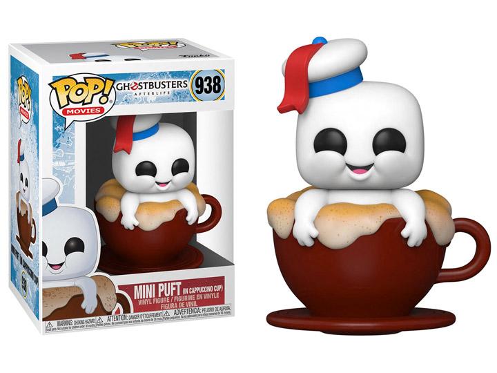 PRÉ VENDA: Funko Pop! Mini Puft On Cappuccino Cup: Caça - Fantasma Ghostbusters - Mais Além Ghostbuster - Afterlife #938 - Funko