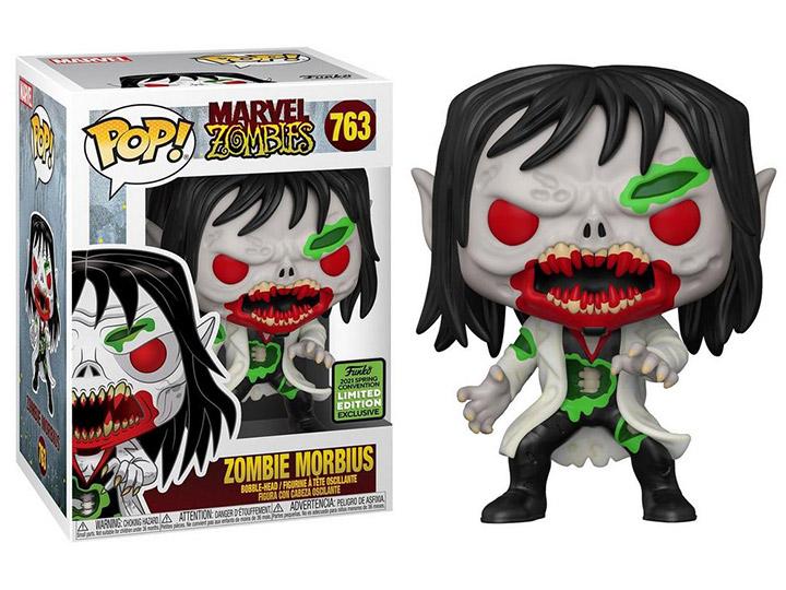 PRÉ VENDA: Funko Pop! Morbius Zombie: Marvel Zombie Exclusivo #763 - Funko