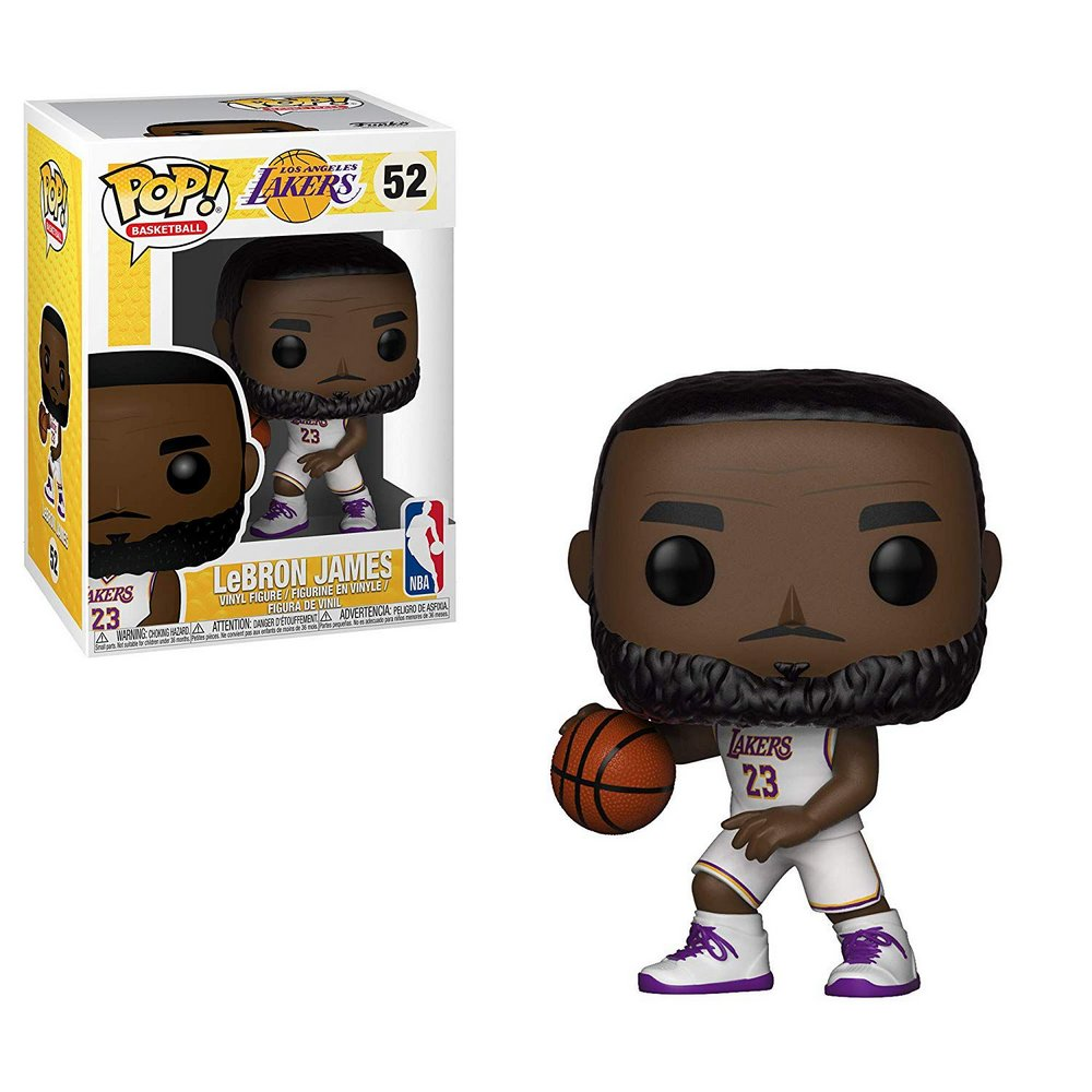 Funko Pop! NBA LeBron James: Los Angeles Lakers #52 - Funko
