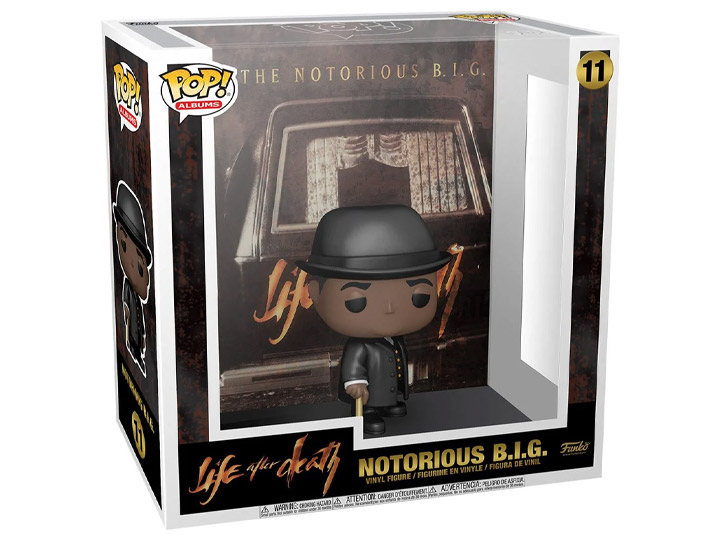 PRÉ VENDA: Funko Pop!  Notorious B.I.G.: Life After Death Albums #11 - Funko
