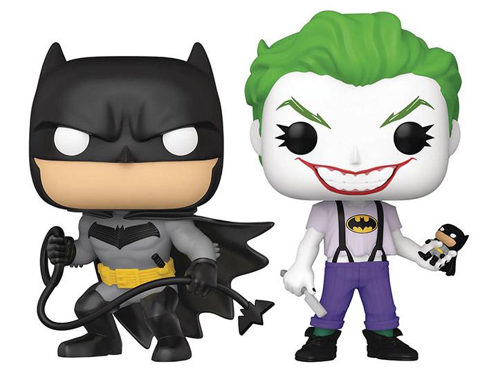 PRÉ VENDA: Funko Pop! Pack Batman White Knight & Coringa The Joker White Knight SDCC 2021 Exclusivo #02 - Funko